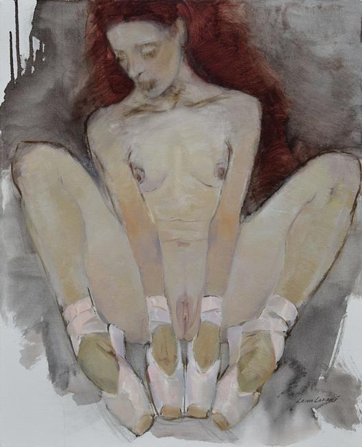 Lena Lafaki, akt, akt kobiecy i portret